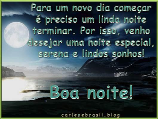 Linda Mensagem De Boa Noite Pra Você Que é Especial Para: Carlenebrasil Pra Você